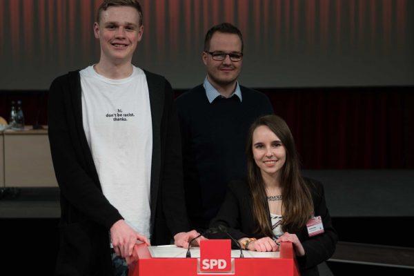 Juso Vertreter*innen im SPD Landesvorstand